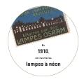 En 1910, on invente les lampes à néon
