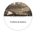 13 millions de visiteurs