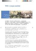 1910 : L'expo oubliée